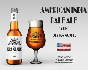 American India Pale Ale (AIPA) - 17 BLG